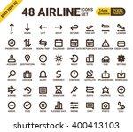 airline web universal pixel...   Shutterstock .eps vector #400413103