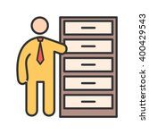 storage manager | Shutterstock .eps vector #400429543