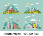 set of icons of nature for your ... | Shutterstock .eps vector #400435753