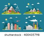set of icons of nature for your ... | Shutterstock .eps vector #400435798