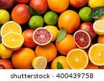 Fresh Citruses. Oranges  Lemon...