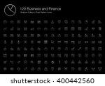 business finance chart graph... | Shutterstock .eps vector #400442560