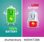Low Battery And Full Battery....