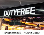 Duty Free Shopping At The...