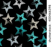 cute vector seamless pattern .... | Shutterstock .eps vector #400466398