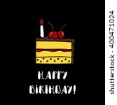 happy birthday card template... | Shutterstock .eps vector #400471024