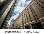 modern building in downtown | Shutterstock . vector #400474669