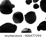 background with ink stains.... | Shutterstock .eps vector #400477294