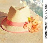 beach accessories | Shutterstock . vector #400479580