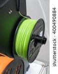 3d printing filaments | Shutterstock . vector #400490884