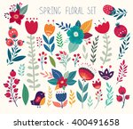 beautiful vector collection... | Shutterstock .eps vector #400491658
