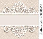 elegant background with border... | Shutterstock .eps vector #400504618