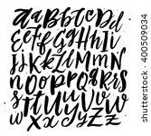 vector typographic background. | Shutterstock .eps vector #400509034