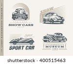 classic cars logo illustrations ... | Shutterstock .eps vector #400515463