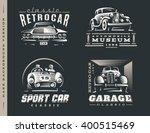 Classic Car Logo Illustrations...