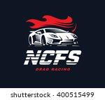 sport car logo illustration....   Shutterstock .eps vector #400515499