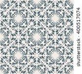 vector damask seamless pattern... | Shutterstock .eps vector #400517074