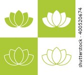 Simple Green Lotus Plant Set