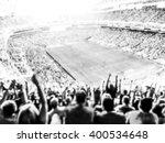 football  soccer fans cheer... | Shutterstock . vector #400534648