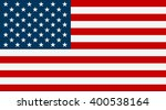united states flag. usa flag.... | Shutterstock . vector #400538164