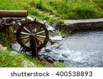 Working Watermill Wheel With...