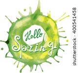 hello spring. abstract... | Shutterstock .eps vector #400541458