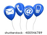 website and internet contact us ... | Shutterstock . vector #400546789
