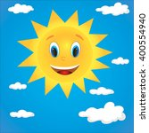 the sun character vector | Shutterstock .eps vector #400554940