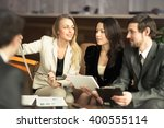 a group of successful... | Shutterstock . vector #400555114