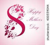 mother's day. vector... | Shutterstock .eps vector #400559044