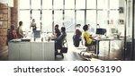 business computer communication ... | Shutterstock . vector #400563190