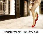 old city landscape of street... | Shutterstock . vector #400597558