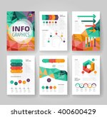 business brochure design... | Shutterstock .eps vector #400600429