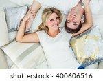 young sweet attractive european ... | Shutterstock . vector #400606516