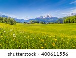 panoramic view of beautiful... | Shutterstock . vector #400611556