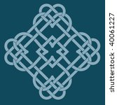 vector illustration of celtic...   Shutterstock .eps vector #40061227