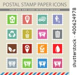 garbage simply symbol for web... | Shutterstock .eps vector #400624978