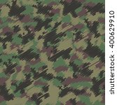 camouflage military fashion... | Shutterstock .eps vector #400629910