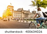 urban city life with famous... | Shutterstock . vector #400634026