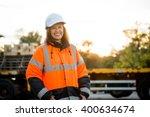 portrait of mature woman... | Shutterstock . vector #400634674