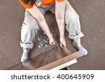 caucasian woman housewife... | Shutterstock . vector #400645909