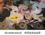 Colourful Curved Pattern Desig...
