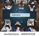 password security log in... | Shutterstock . vector #400653328