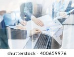 business and office concept  ... | Shutterstock . vector #400659976