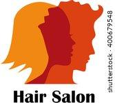 hair salon logo | Shutterstock .eps vector #400679548