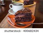 Chocolate Dessert With Coffee