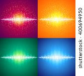 sound   audio waves | Shutterstock . vector #400694950