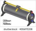 rheostat   variable resistor  | Shutterstock .eps vector #400695208