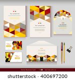 corporate identity.vector... | Shutterstock .eps vector #400697200