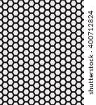 big black and white honeycomb... | Shutterstock .eps vector #400712824